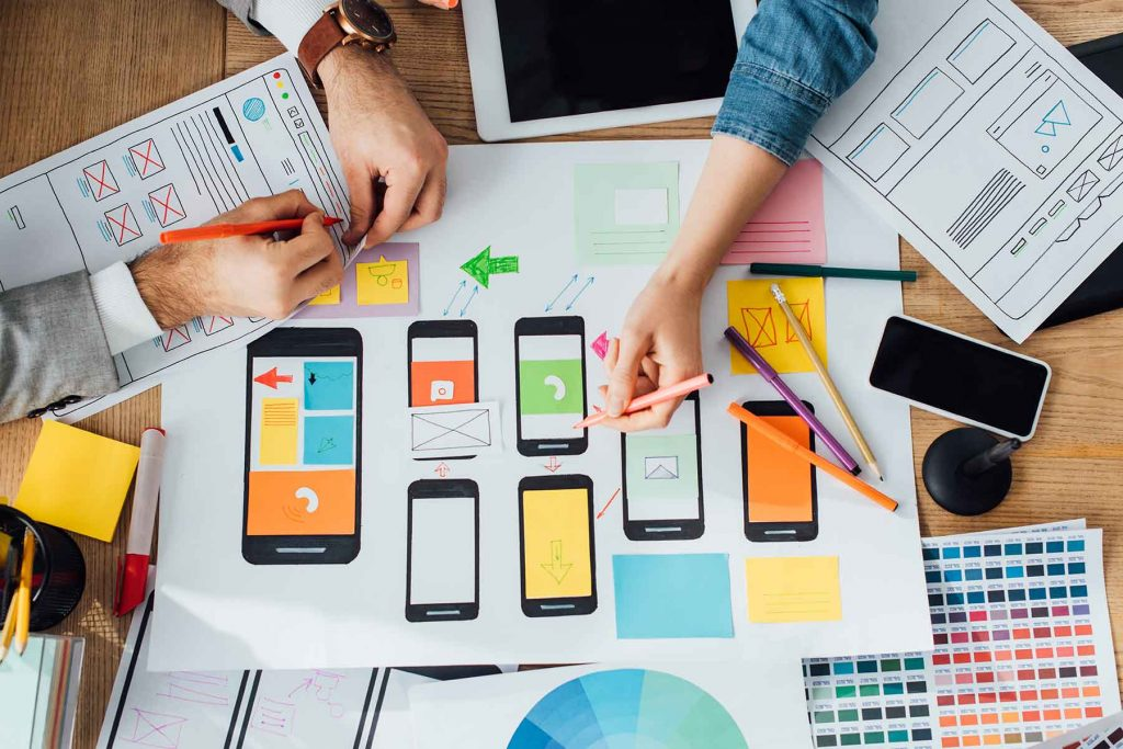 desenvolvimento e criação de sites